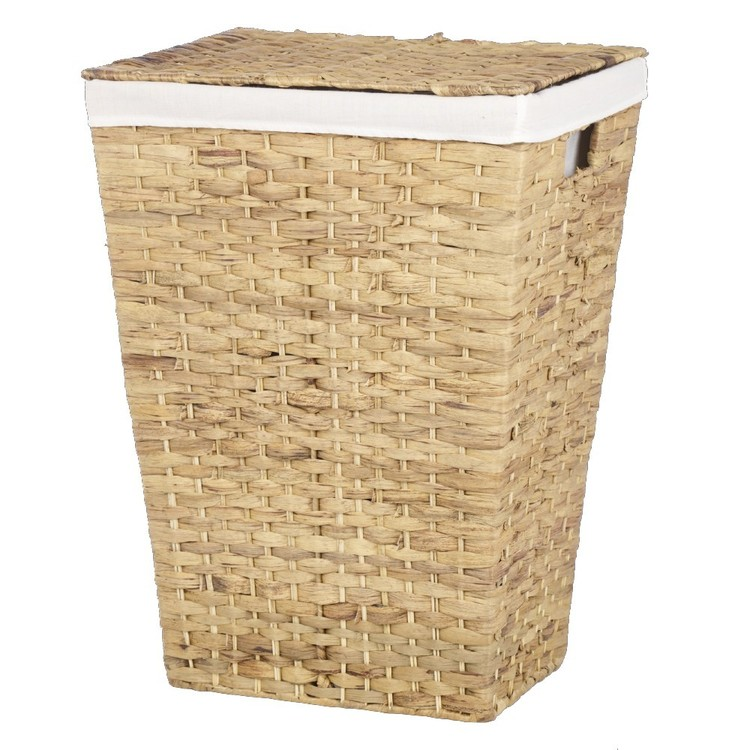 Living Space Matilda Rectangle Laundry Hamper Natural