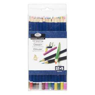Royal & Langnickel 24pc Colour Pencils