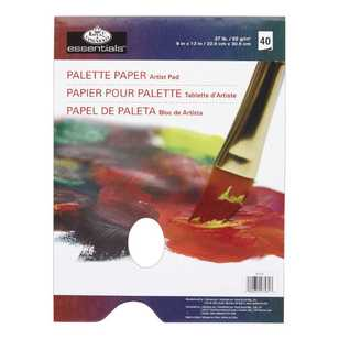 Royal & Langnickel Palette Paper With Hole