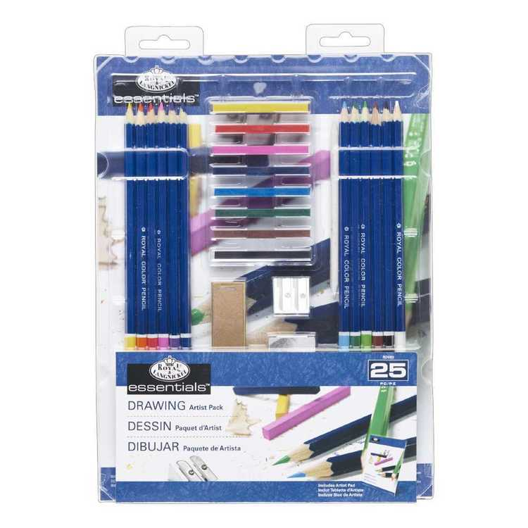 Royal & Langnickel Essentials Drawing Set Multicoloured