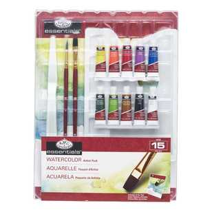 Royal & Langnickel Watercolour Painting Blister Pack
