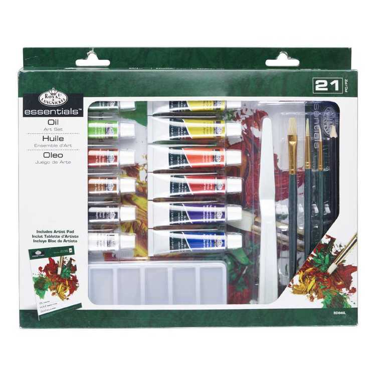 Royal & Langnickel 3T Oil Painting Box Set