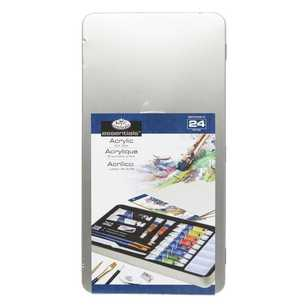 Royal & Langnickel Deluxe Tin Acrylic Painting Set