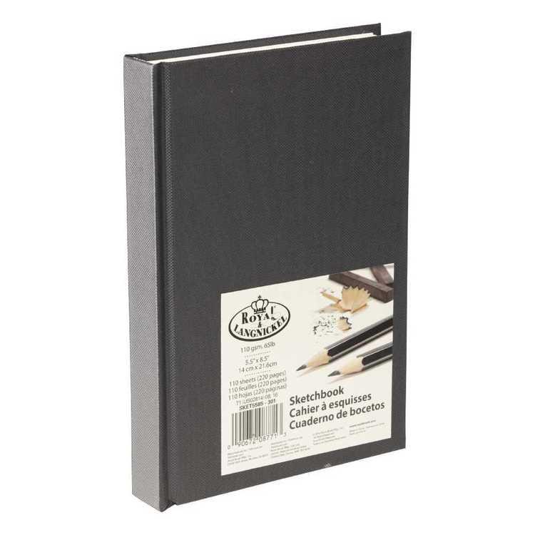 Royal & Langnickel Black Sketchbook