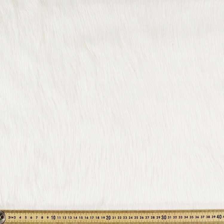 White Fox J305 Plain Faux Fur