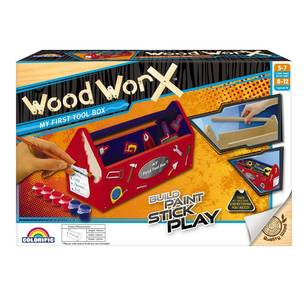 Wood Worx My First Tool Box