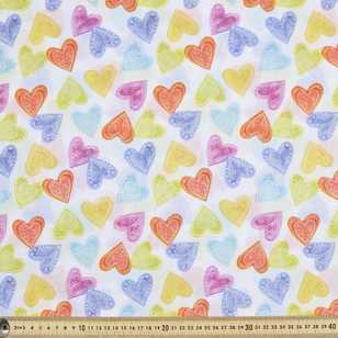Mix N Match Love Hearts Cotton Poplin