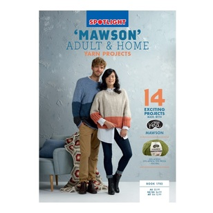 Spotlight Mawson Adult & Home 1702 Pattern Book