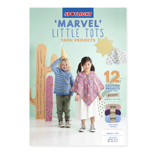 Spotlight Marvel Little Tots 1701 Pattern Book