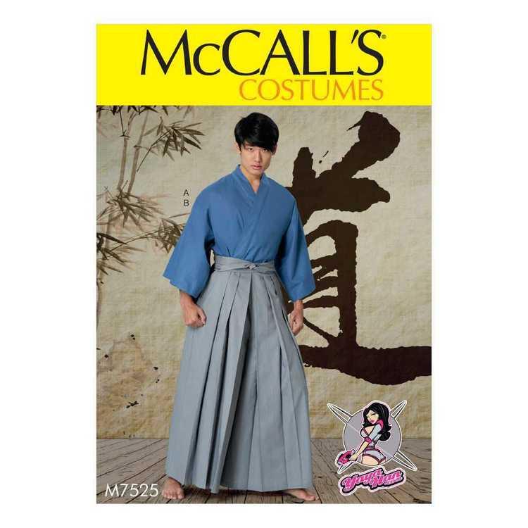 McCall's Pattern M7525 Kimono & Pants