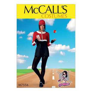 McCall's Pattern M7556 Cropped Sweatshirts and Princess-Seam Rompers