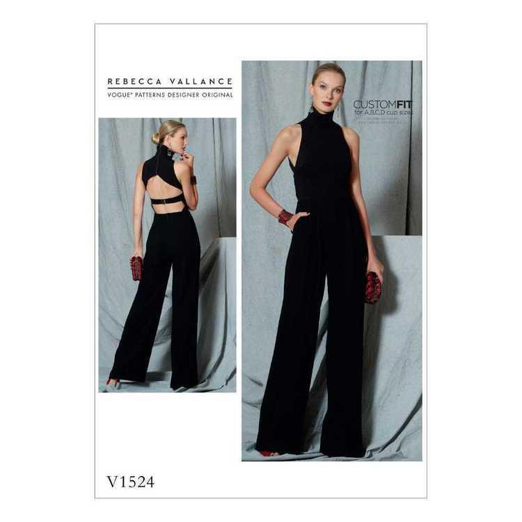 Vogue Pattern V1524 Misses' Jumpsuit