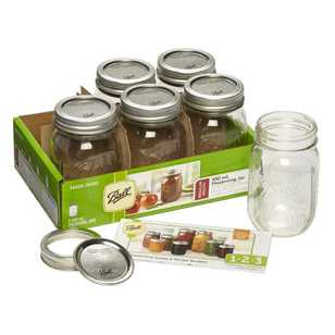 Ball Regular Quilted Jars 6 Pack