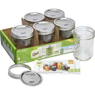 Ball Wide Mouth Jars 6 Pack