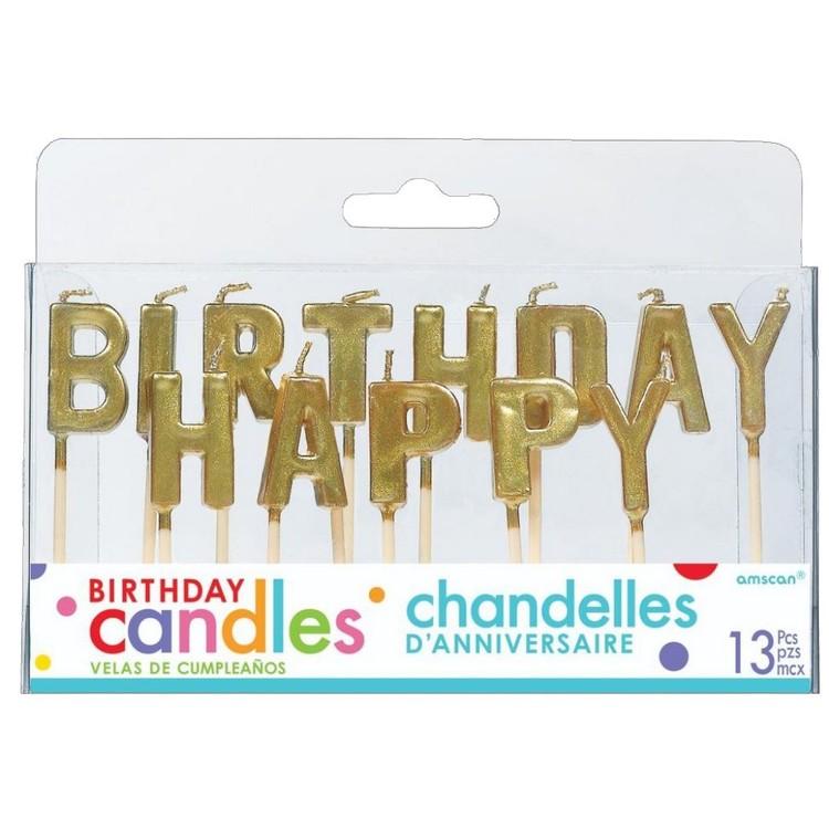 Amscan Happy Birthday Pick Candles