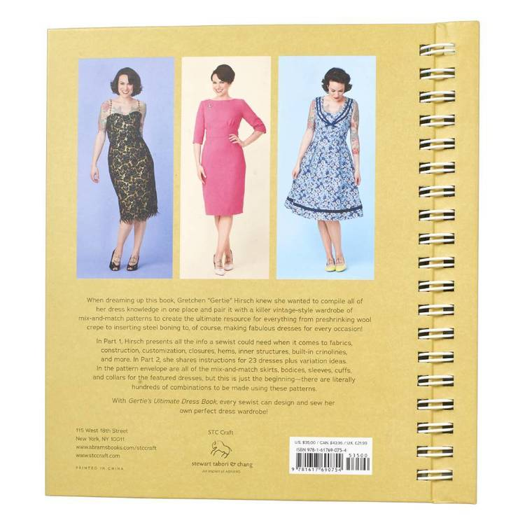 Gertie's Ultimate Dress Book Multicoloured