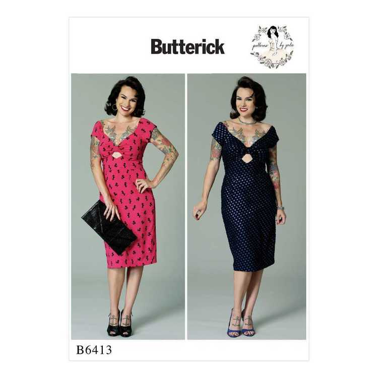 Butterick Pattern B6413 Misses' Gathered-Front