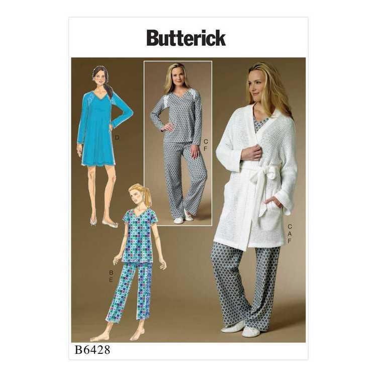 Butterick Pattern B6428 Misses' Robe