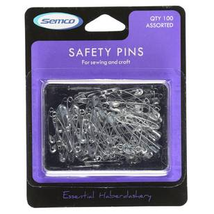 Semco Assorted Safety Pins - Everyday Bargain
