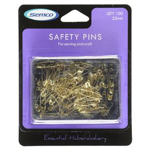 Semco 22mm Safety Pins - Everyday Bargain
