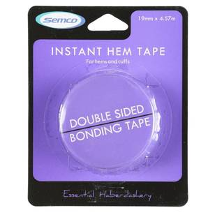 Semco 20mm x 5m Instant Hem Tape - Everyday Bargain