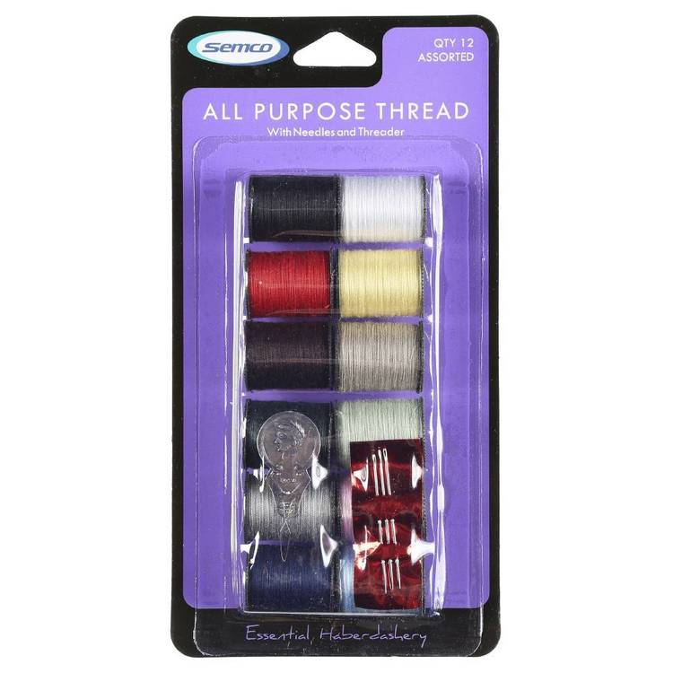 Semco All-Purpose Various Thread Spools - Everyday Bargain
