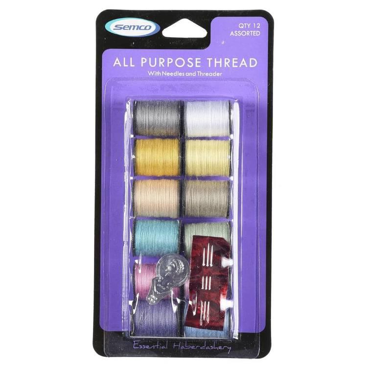Semco All-Purpose Thread Spools - Everyday Bargain