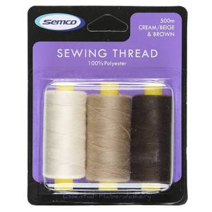 Semco 500m Sew Thread - Everyday Bargain