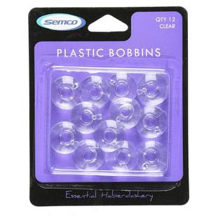 Semco Plastic Bobbins - Everyday Bargain