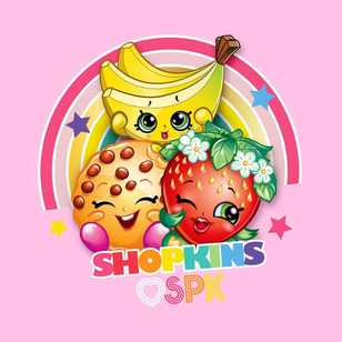 Shopkins Lets Party Cushion