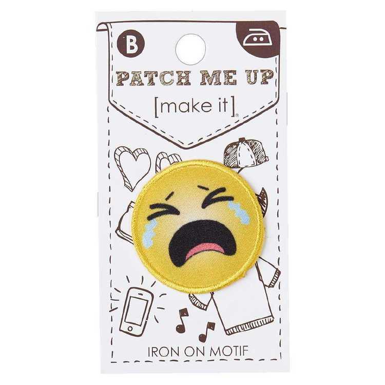 Make It M5 Crying Emoji Motif