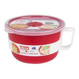 Decor Microsafe Noodle/Oat Bowl