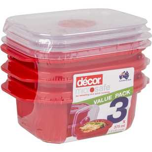 Decor Microsafe Oblong Container