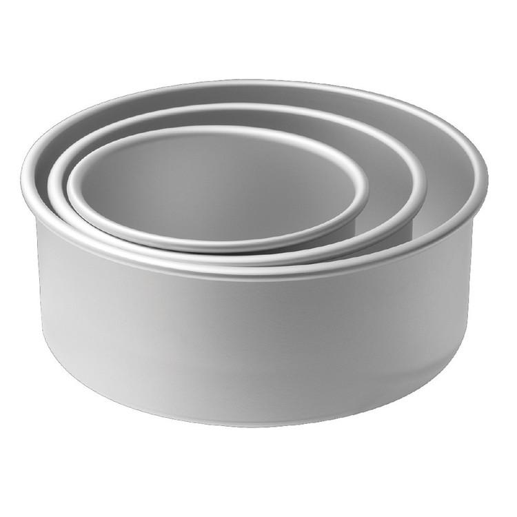 Mondo Pro Deep Round Cake Pans Set 3