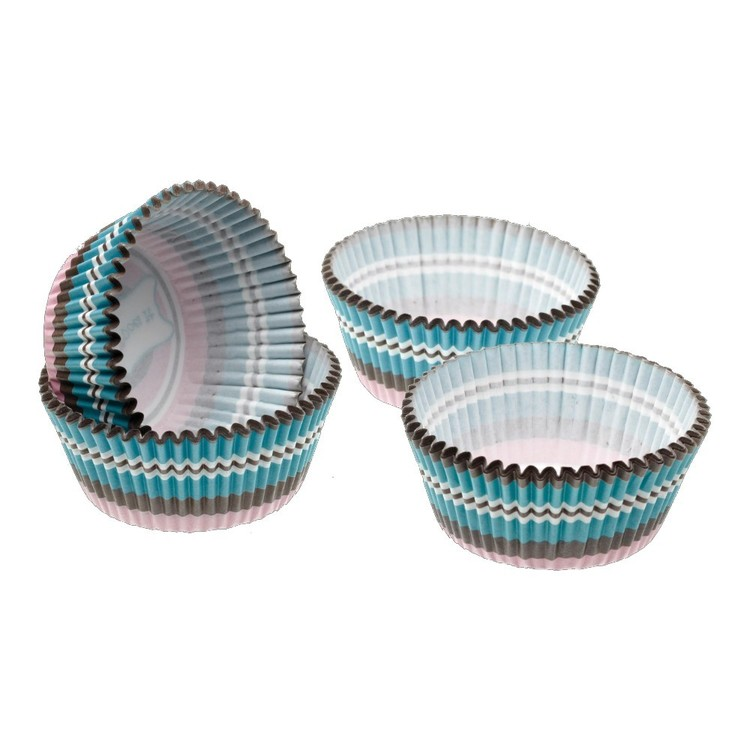 Kitchencraft Sweetly Does It Circle Mini Cake Cases