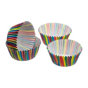 Kitchencraft Sweetly Does It Stripe Mini Cake Cases