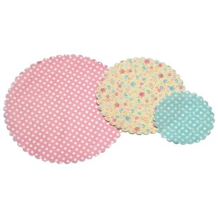 Kitchencraft Sweetly Does It Patterned Paper Doilies