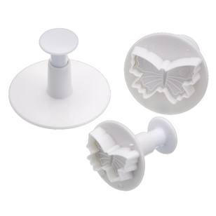 Kitchencraft Sweetly Does It Butterfly Fondant Cutter Set