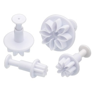 Kitchencraft Sweetly Does It Flower Fondant Plunger Cutter Set
