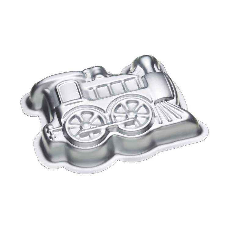 Kitchencraft Sweetly Does It Train Shaped Pan Silver 26 x 18 x 5 cm