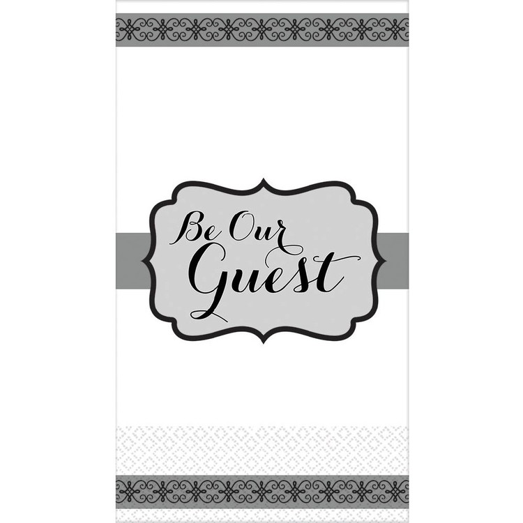 Amscan Be Our Guest Premium Guest Towel