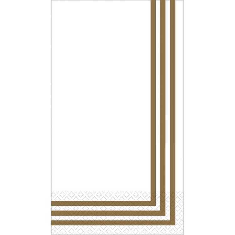 Amscan Classic Stripe Premium Guest Towel
