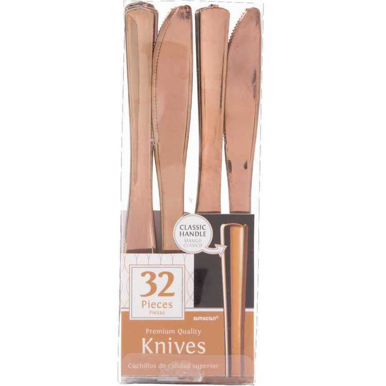 Amscan Gold Premium Knife