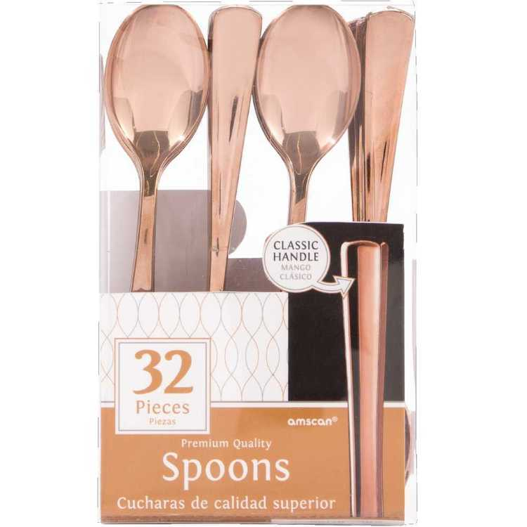 Amscan Gold Premium Spoon