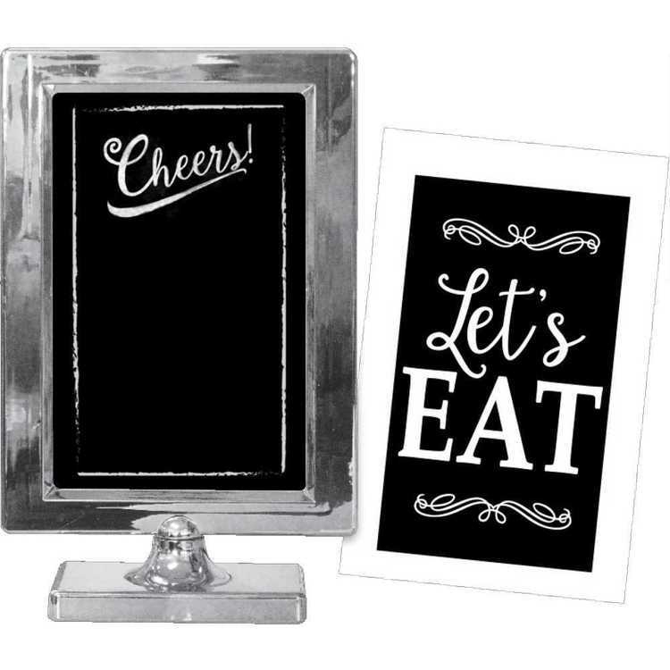 Amscan Silver Customizable Table Frame