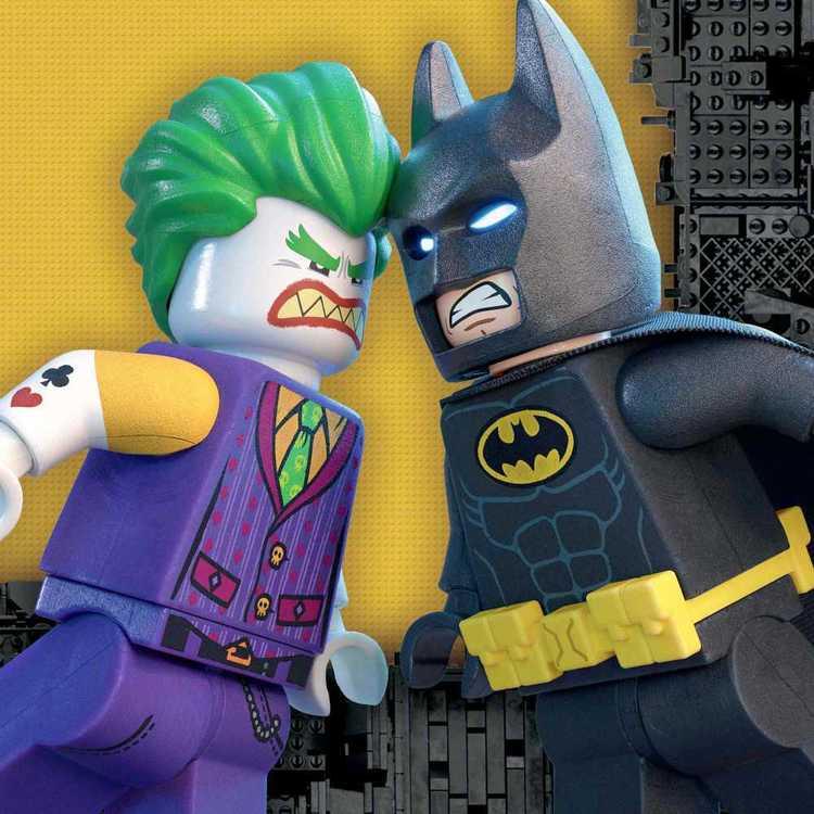 Warner Bros Lego Batman Luncheon Napkin