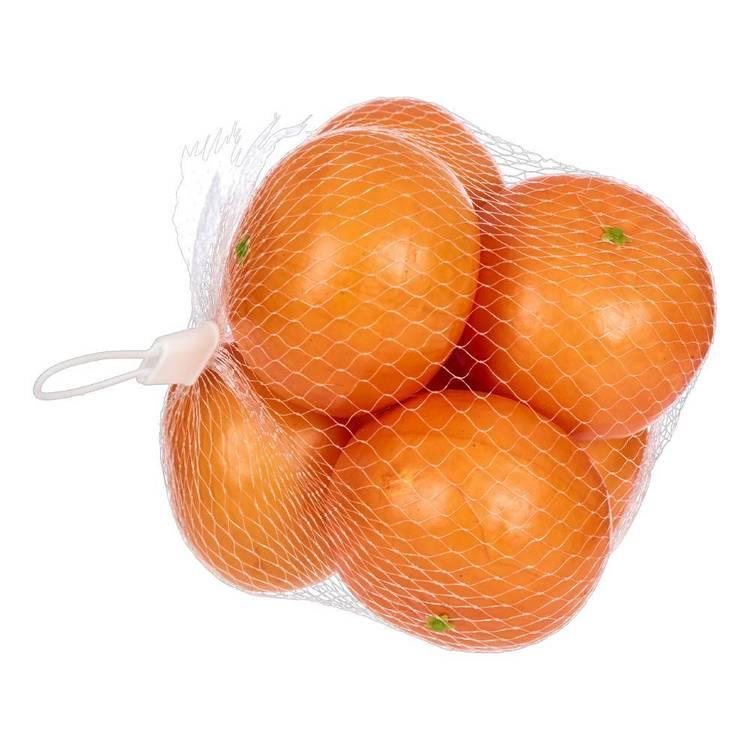 Emporium 6 Pieces Orange In One Mesh Bag