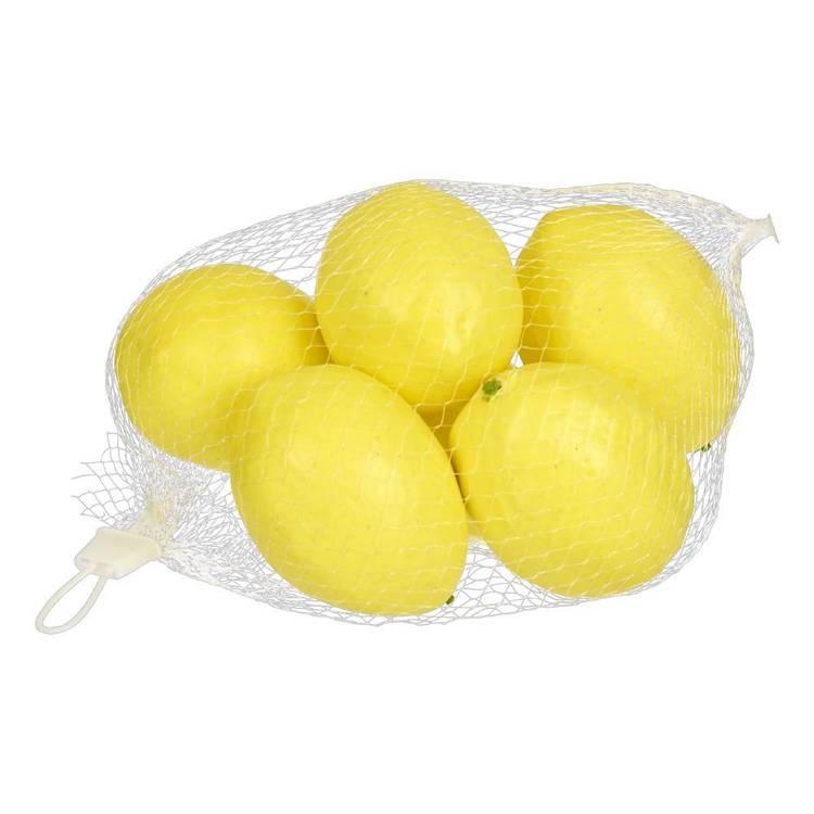 Emporium 6 Pieces Lemon In One Mesh Bag