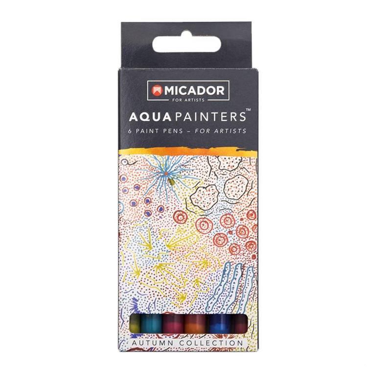 Micador Aquapainters Autumn Collection Box 6
