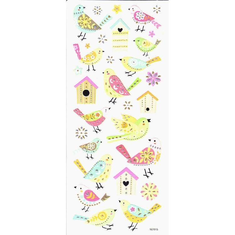 Arbee Birds Sweet Stickers Sheet